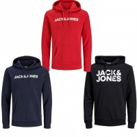 Sweat von Jack & Jones ecorp Logo sweat hood