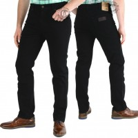 Wrangler Jeans Texas black-Stretch-W12109004